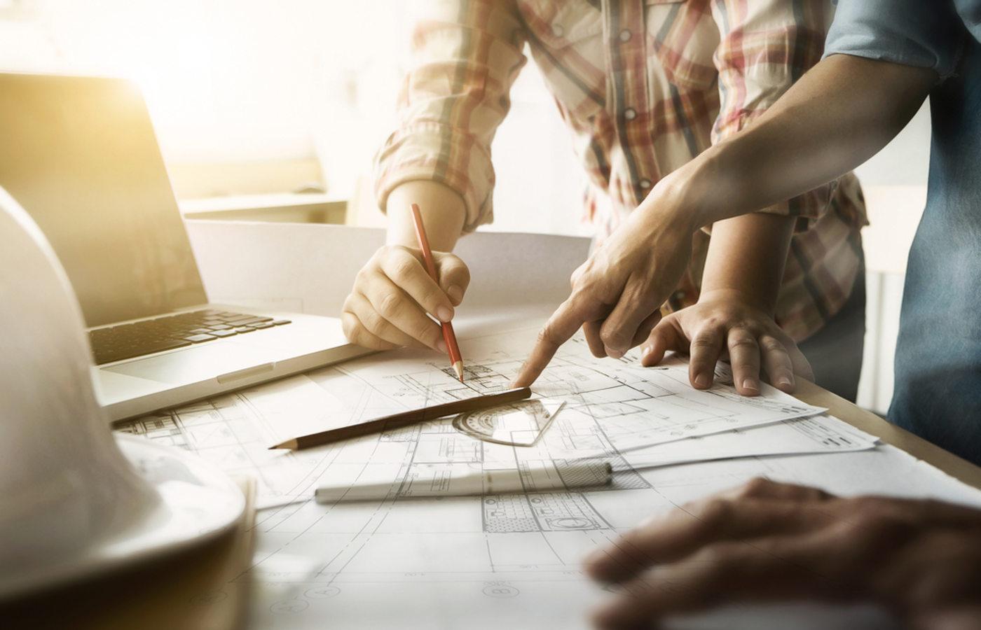 business architects technische zeichnung